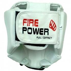 Фото 3 к товару Шлем для соревнований Firepower FPHG2 белый