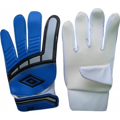 Перчатки вратарские Umbro FB-838 сине-белые