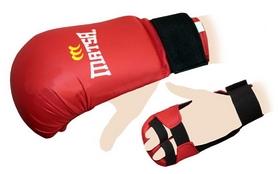 Накладки (перчатки) для карате Matsa MA-0010-R красные