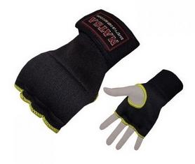 Распродажа*! Перчатки-бинты внутренние гелевые Matsa MA-6022-BK черные - XL