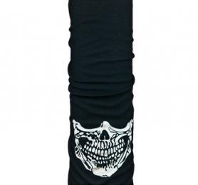 Головной убор зимний многофункциональный (Бафф) 5000 Miles Skull