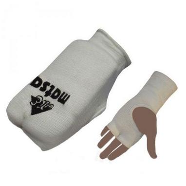 Накладки (перчатки) для карате Matsa MA-0009-W белые