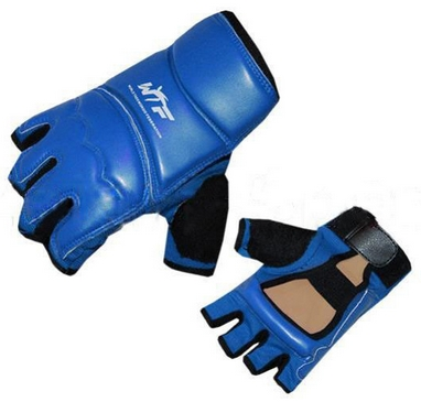 Накладки (перчатки) для тхэквондо ZLT BO-2016-B WTF синие
