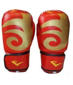 Распродажа*! Перчатки боксерские Everlast BO-3630-R красные - 12 oz