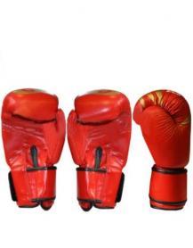 Фото 2 к товару Перчатки боксерские Everlast BO-3630-R красные