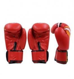 Фото 2 к товару Перчатки боксерские ZLT ZB-4276-R красные