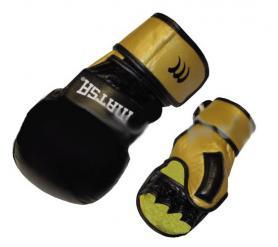 Перчатки для смешанных единоборств MMA Matsa ME-2011-BK черные