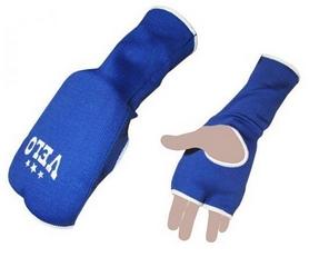 Накладки (перчатки) для карате Velo ULI-10019 синие