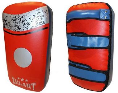 Пэда (тай-пэд) прямая ZLT ZB-6146 красно-синяя (1 шт)