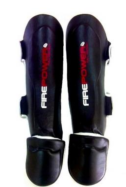 Защита ног (голень+стопа) Firepower FPSG3 Black