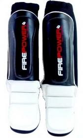 Защита ног (голень+стопа) Firepower MMA Pro FPSG4 Black