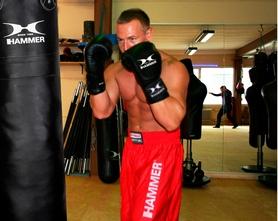 Фото 4 к товару Перчатки боксерские Hammer Premium Fight