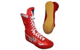 Боксерки замшевые OB-3206R красные