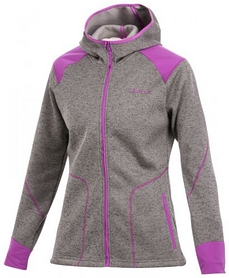 Фото 1 к товару Толстовка Craft Warm Hood Jacket W metal/orchid