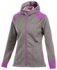 Толстовка Craft Warm Hood Jacket W metal/orchid - фото 1
