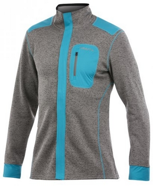 Пуловер мужской Craft Warm Jacket M metal/laser