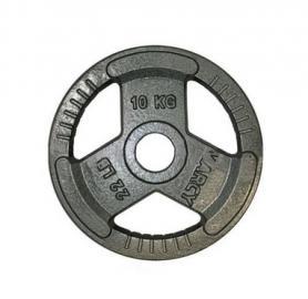 Фото 1 к товару Диск олимпийский 10 кг Marcy с хватами - 51 мм