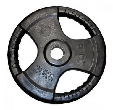 Диск обрезиненный олимпийский 20 кг Marcy с хватами - 51 мм
