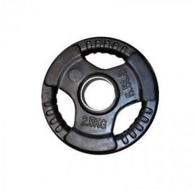 Диск обрезиненный олимпийский 2,5 кг Marcy с хватами - 51 мм