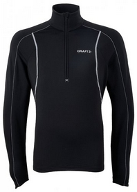 Пуловер мужской Craft LightWeight Stretch Pullover Men black/white