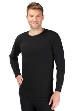 Термофутболка мужская c длинным рукавом Thermoform 18-001 черная