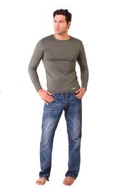 Термофутболка мужская c длинным рукавом Thermoform 18-001 хаки - L