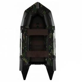 Лодка надувная моторная килевая Aquastar K-430 камуфлированная
