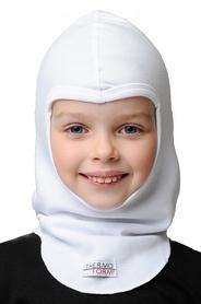 Шапка-маска детская Thermoform 1-016 белая - 2-4 года