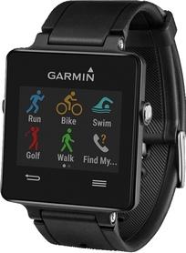 Фото 1 к товару Часы спортивные Garmin с датчиком сердечного ритма vivoactive black bundle