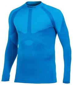 Термофутболка мужская с длинным рукавом Craft Warm Crewneck Man M galaxy blue - XXL