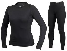 Фото 1 к товару Комплект термобелья женский Craft Active Multi 2-Pack Woman black