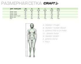 Фото 2 к товару Термоштаны Craft Are Pants W pink/lime