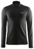 Пуловер мужской Craft Facile Halfzip Man Cayenne black - фото 1
