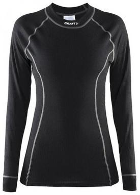 Распродажа*! Термофутболка женская с длинным рукавом Craft Active Long Underpants W black - размер M