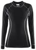 Распродажа*! Термофутболка женская с длинным рукавом Craft Active Long Underpants W black - размер M - фото 1