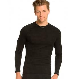 Фото 3 к товару Термофутболка мужская с длинным рукавом Craft Warm Wool black