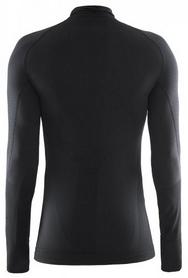 Фото 2 к товару Термофутболка мужская с длинным рукавом Craft Warm Half Polo black