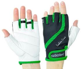 Перчатки спортивные Stein Betty GLL-2311 зеленые - M