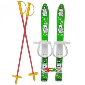 Лыжи детские Marmat Baby Ski 70 см зеленые
