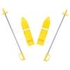 Лыжи мини Marmat Baby Ski 40 см желтые - фото 1