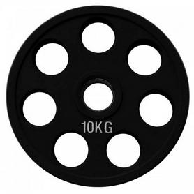 Фото 1 к товару Диск обрезиненный олимпийский 10 кг Alex - 51 мм