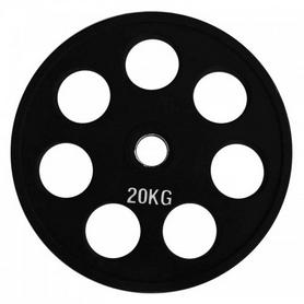 Диск обрезиненный олимпийский 20 кг Alex - 51 мм