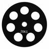 Диск обрезиненный олимпийский 20 кг Alex - 51 мм - фото 1