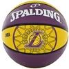 Мяч баскетбольный резиновый Spalding Lakers - фото 1