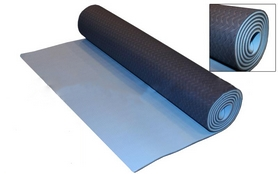 Коврик для фитнеса Yoga mat TPE+TC 4мм FI-3973 cине-голубой