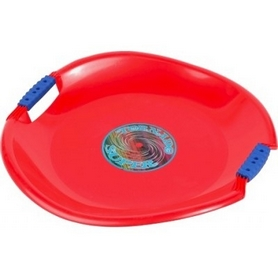 Ледянка Plast Kon Tornado Super красная