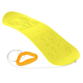 Ледянка-сноуборд Plast Kon Skyboard желтый