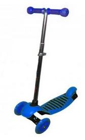 Самокат трехколесный с наклоном руля  Scooter Micro Maxi C-4503 синий