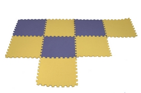 Фото 1 к товару Покрытие напольное модульное ласточкин хвост Newt 48,5х48,5х1 см (6 шт)