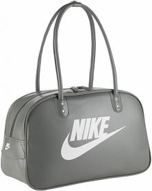 Фото 1 к товару Сумка Nike Heritage Si Shoulder Club серая с белым